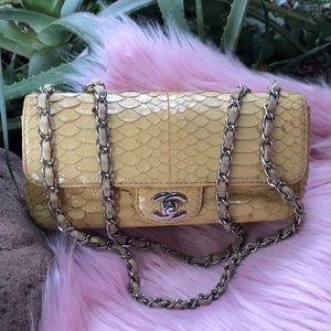 Chanel Python Exotic Rare Beauty ❤️